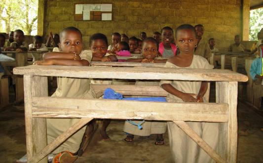 We keep African kids in school
