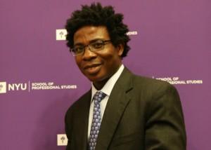 """Kofi Amouzou, an incurable optimist"" – Jackie Lupo, The Rivertowns Enterprise newspaper."